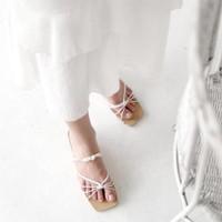 WATT Sandal Wanita Utopia White - 36