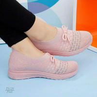 SFOS Premium - Sepatu Fashion Flynit Slipon TS120(2PC BISA 1KG)