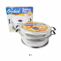 backing pan orcid 28/alat pencetak kue bolu telur 8