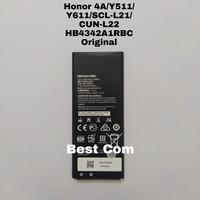 Baterai Honor 4A/Y511/Y611/CUN-L22/SCL-L21 HB4342A1RBC Original