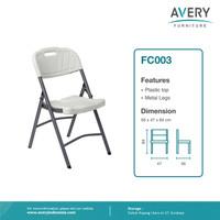 Avery Furnitures - Kursi Lipat Plastik dan Kaki Besi - FC003