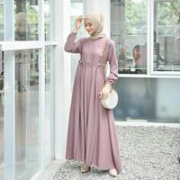 Gamis Arumi model baju gamis wanita terbaru model gamis syari polos