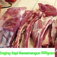 Iga sapi daging tebal 500gram