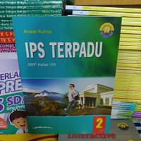Buku IPS Terpadu SMP Kelas 8 K13 Revisi 2016 Yudhistira ORI by Anwar