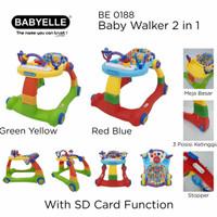 GOJEK/GRAB - BABY WALKER/ RIDE ON/ PUSH WALKER/ BABYELLE WALKER 2-IN-1