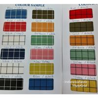Kain bahan Katun Jepang Tokai senko motif Kotak catur edisi spesial