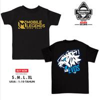 Kaos Baju Anak Mobile Legends Team Evos E Sport Kaos Game - Karimake