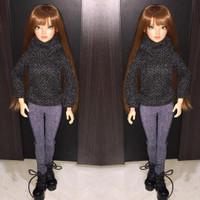 Baju Boneka BJD MSD size 43cm / BJD Sweatshirt