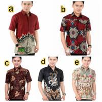 Baju Batik Pria Lengan Pendek | Batik Kantor - BATIK SERAGAM
