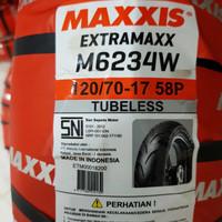 Ban Maxxis Extramaxx 120/70-17 Ban Tubless