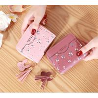W125 Dompet Mini Wanita Little Flower Women Wallet