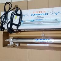 Lampu UV 8 gpm Lotus Ultraviolet Unit