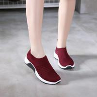 HELYNZ - DOLYN Sepatu Fashion Flyknit Slip On HL-AQY17 (2PC BISA 1KG)
