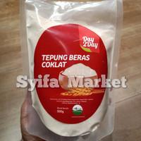 tepung beras coklat organik 500gr.