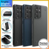 Ringke Onyx Softcase Case Samsung Galaxy S21 Ultra S21 Plus - Casing - Black, S21 Ultra