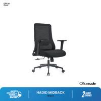 Kursi Kantor, kursi kerja Hadid Midback Chair Officescale