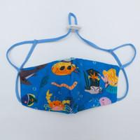 Masker anak size S (1-2 tahun)- koleksi SPACE dan UNDER THE SEA