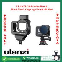 ULANZI G8-5 GoPro Hero 8 Black Metal Vlog Cage Dual Cold Shoe