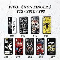 VIVO Y91C  Soft Hard Case MAN GLOSS Casing BAPE Supreme