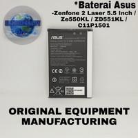 Baterai battery batre Asus Zenfone 2 laser 5.5 ZE550KL Selfie C11P1501