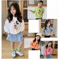 sweater anak perempuan mickey mouse