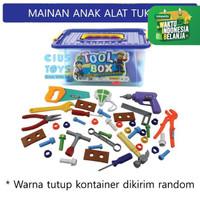 Mainan Anak Alat Tukang Tukangan Tool Box OCT 7505
