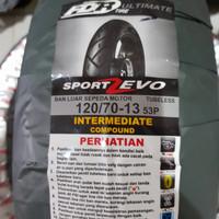 Ban FDR Sport Zevo 120/70-13 Tubless Nmax Depan