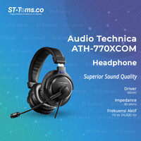 Audio Technica ATH-770XCOM Stereo Headset
