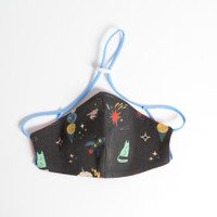 Masker anak + filter size M ( 3-5 tahun)