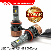 Autovision Tuner RS H11 (8-32V) 30W, 3-Color - HB4