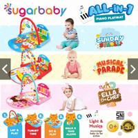 Sugar Baby All in 1 Piano Playmat