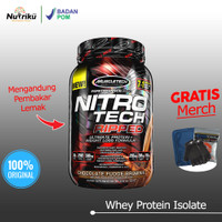 Muscletech Nitrotech Ripped 2LB Whey Protein BPOM