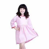 T 3258 Baju Drees Pakaian Anak Perempuan ROSY TDLR