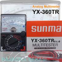 Multimeter Multitester Sanwa YX-360TR Avometer Voltmeter Sunwa Tester