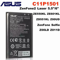 battery baterai batre asus zenfone 2 laser 5 in 6 in C11P1501 Original