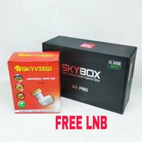 Receiver Parabola SKYBOX A1 PRO HD H265 AVS+ DVBS2 + DVBT2 Set Top Bo