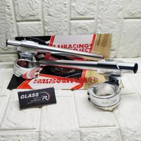 Stang Jepit Nui MKTC R15 v3 XSR 48mm 51mm Silver