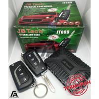 Alarm Mobil merk JB Tech Kunci Lipat / Model Remote Innova Reborn