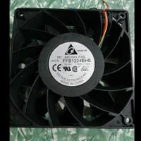 Fan DC BRUSHLESS DELTA FFB1224EHE 24VDC 12cm