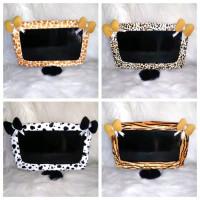 Bando TV 25-32 Inchi motif hewan karakter leopard doraemon hello kitty