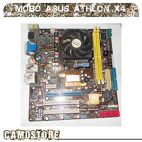 paket Motherboard Asus Am3 DDR2 M4A78-VM + Athlon II X4 645