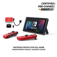 Nintendo Switch Preowned CFW + MMC 256GB Full Games by Gopayless