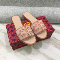 sandal flat wanita TB ines flat slide sandal