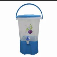 water dispenser/drink jar/wadah air - Biru, bubble+fragile