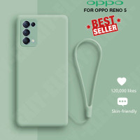 Case Oppo Reno 5 Baby Skin FREE tali Fashion Cute Casing TPU Softcase