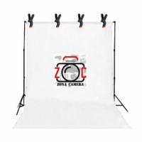 Background Kain Foto Putih 4x3 Studio Layar Photo Video White Backdrop