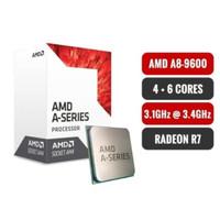 AMD A8 9600 + ASROCK A320M HDV