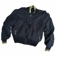 Vintage Heavy NICOLE reversible Bomber Wool Varsity Jacket not Levis