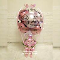 balloon box jumbo/buket balon jumbo/buket balon led/kado balon jumbo