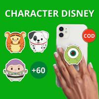 Griptok Disney Custom Pop Socket Popsocket Hp Premium Acrylic Akrilik